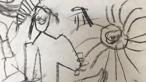 A actitude cara aos debuxos da infancia / La actitud hacia los dibujos de la infancia