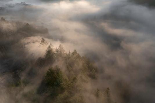 Brume du matin - Dun les Places