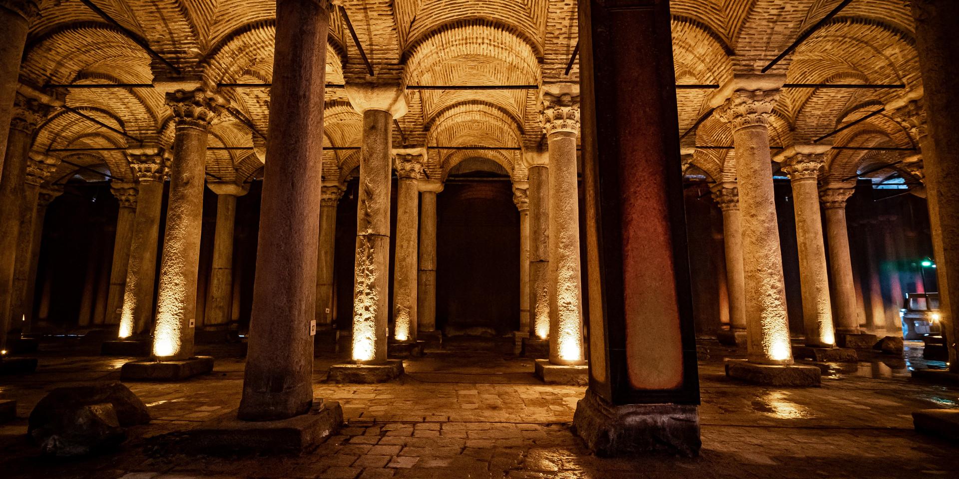Citerne souterraine - Istanbul