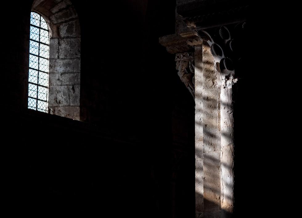 Vézelay - Ombres