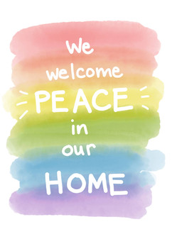 we welcome peace