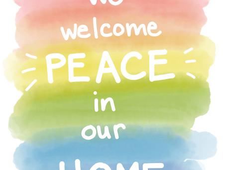 peace keeping at home