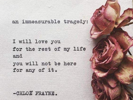 Immeasurable Tragedy