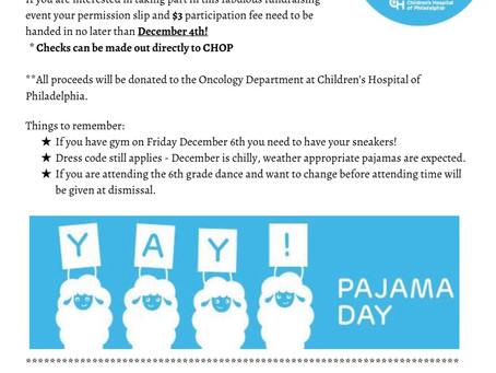 2019 Pajama Day
