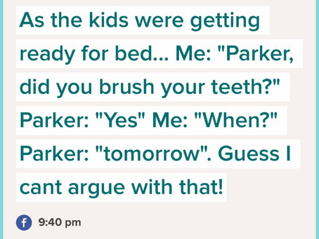 Teeth Brushing with Parker
