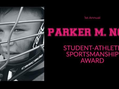 1st Annual Parker M. Nork Sportsmanship Award