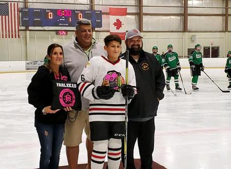 Toms River Blackhawks Parker M Nork Sportsmanship Awards