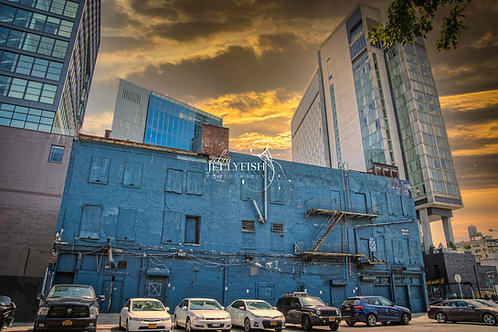 Blue Wall, New York City