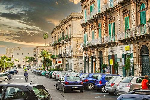 "Bisceglie, Italy, Piazza ""Vittorio Emanuele"""