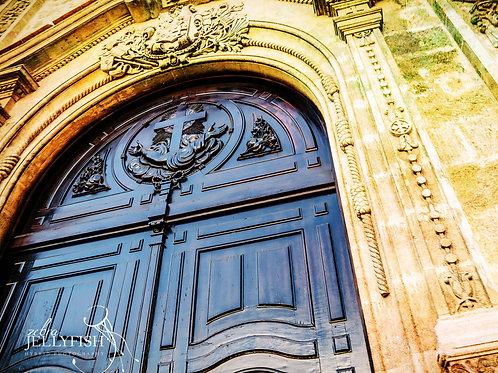 Church Door, Havana Cuba