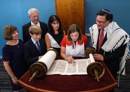 Bat Mitzvah Family Photography