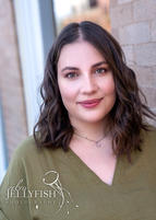 Young Woman  Headshot Photography Outdoor Shoot