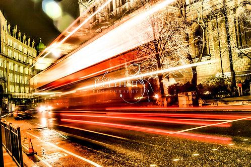 London Bus, Saint Paul's, Street Photography