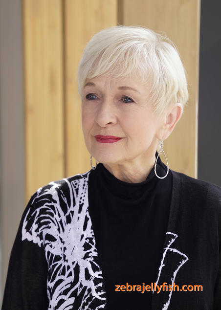 Older Woman  Headshot Photography Outdoor Shoot