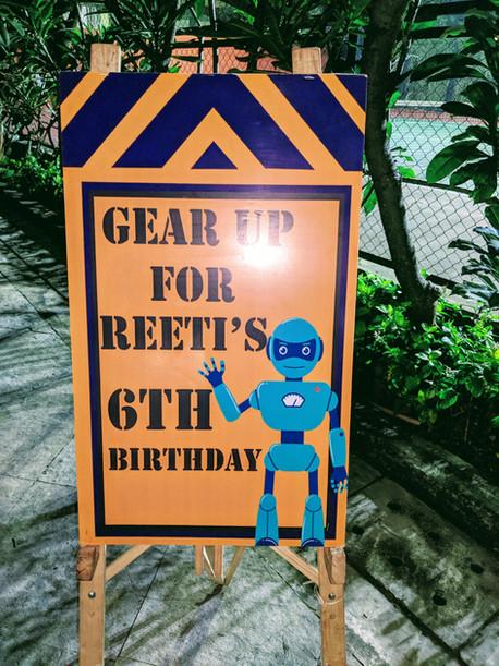 kids robotic party easel whiz lab mumbai