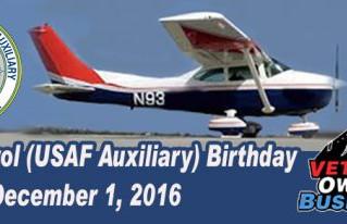 Civil Air Patrol (USAF Auxiliary) Birthday