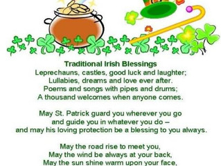 Irish Blessings to You All!