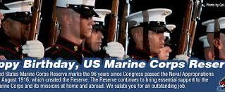 Marine Corps Reserve Birthday