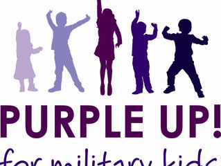 Purple Up for Military Child