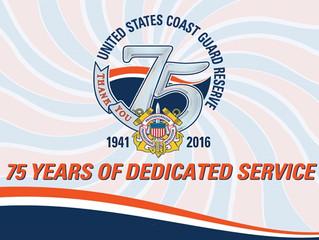 Coast Guard Auxiliary Birthday