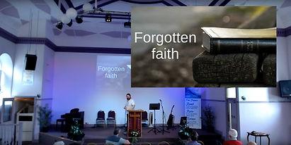 Believe week 8 - Forgotten faith