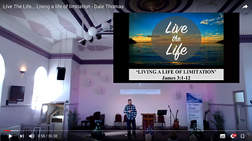 Live the life part 4 - Living a life of