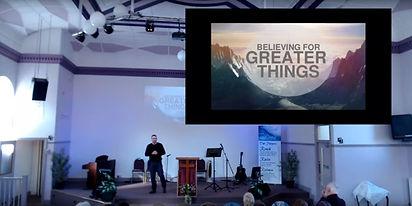 Believe  week 10 - Believing for greater