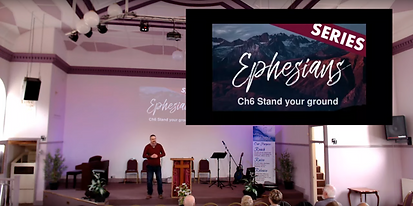 Ephesians ch.6 - Stand your ground