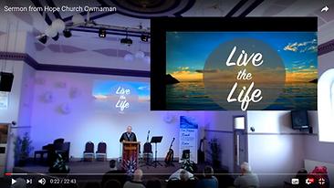 Live the life part 3 - show me your fait