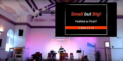 Small but BIG! part 2 - Faithful or firs