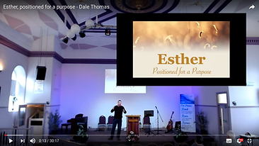 Esther, positioned for a purpose