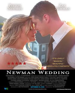 Newman Wedding Poster