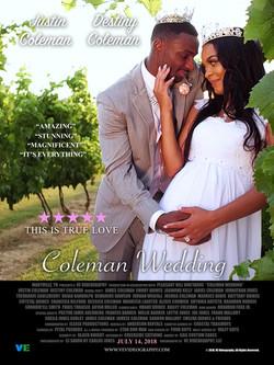 Coleman Wedding Poster