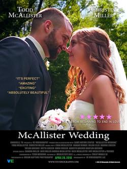 McAllister Wedding Poster