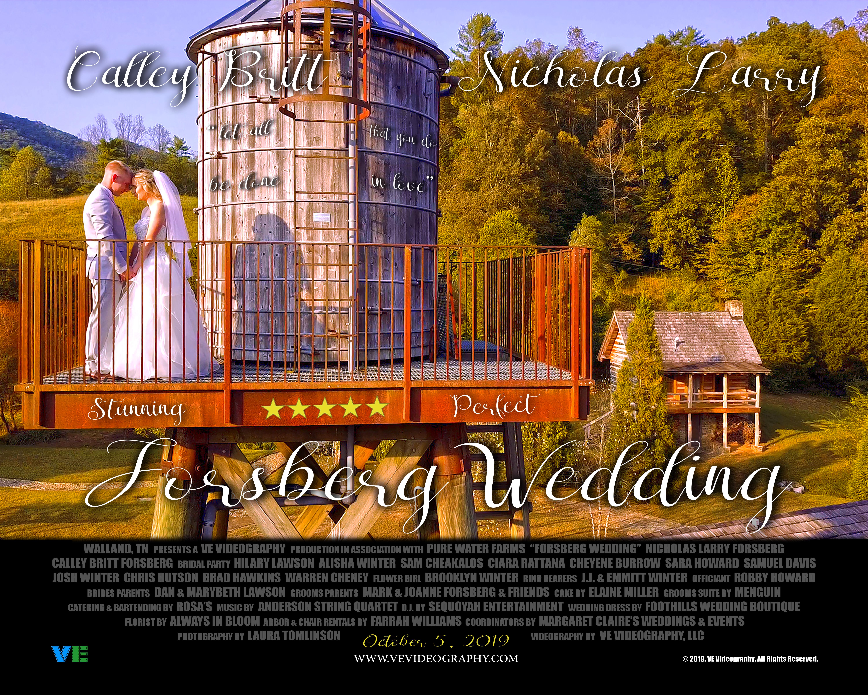 Forsberg Wedding Poster