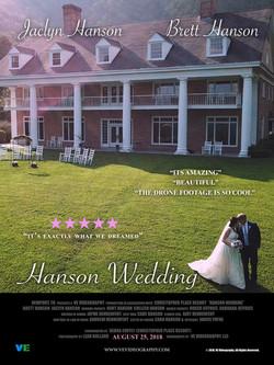 Hanson Wedding Poster