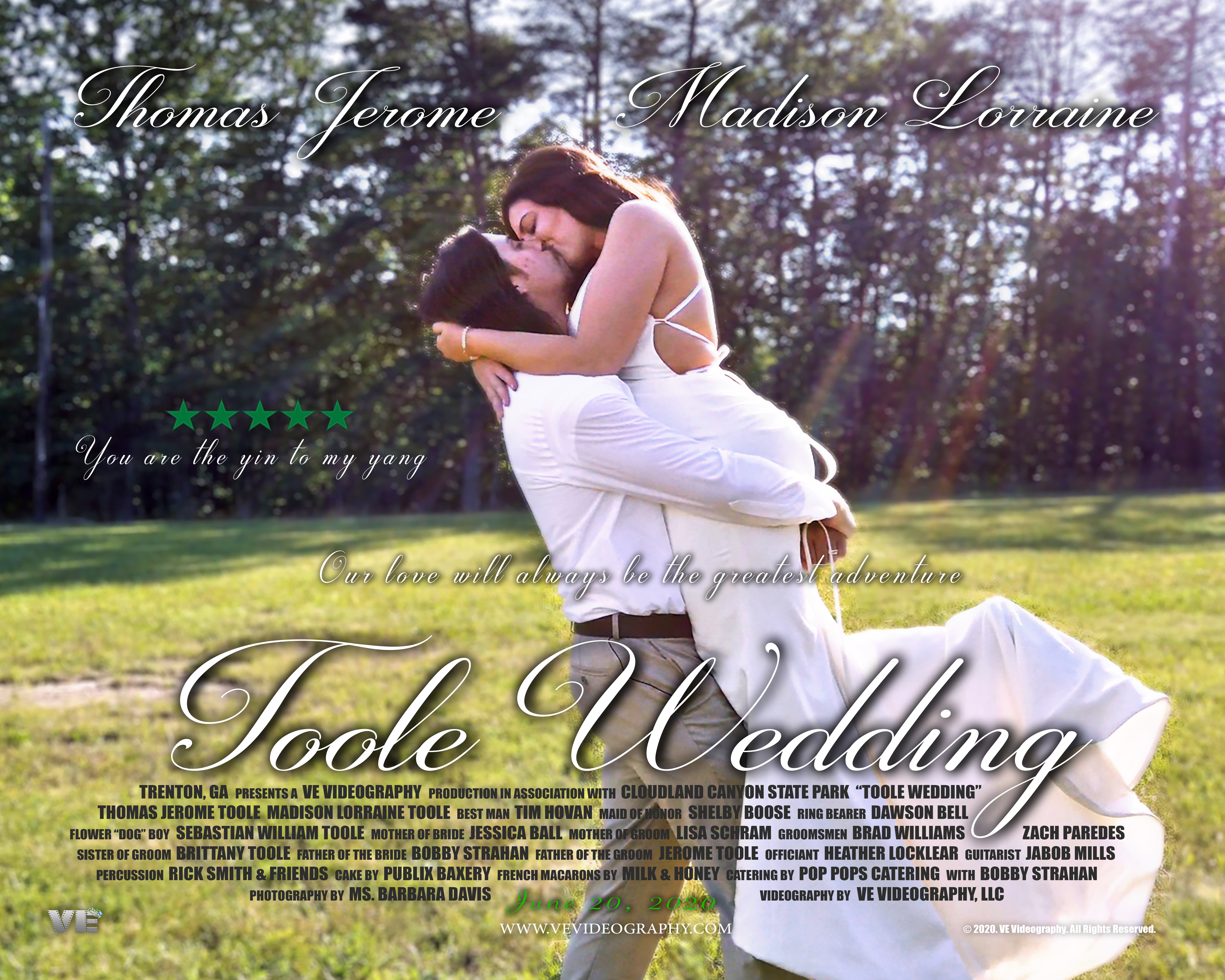 Toole Wedding Poster