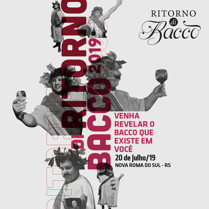 Nova campanha do Ritorno de Bacco já está nas redes sociais.