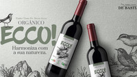 Novo vinho orgânico ECCO!, harmoniza com a sua natureza.