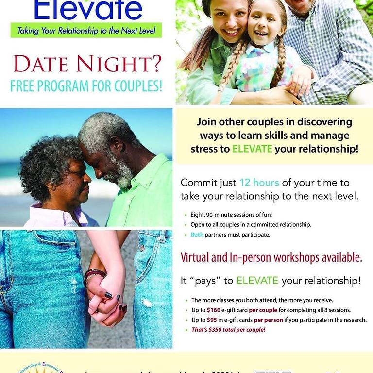 ELEVATE Couples Relationship Workshops