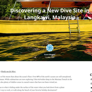Discovering a new divesite