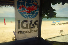 view from langkawi scuba shop