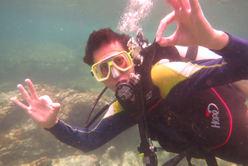 langkawi scuba student diver