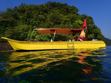 Discovering a new divesite in Langkawi