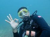 Dee PADI under water Instructor