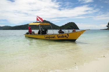 Langkawi Scuba dive boat
