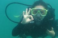 student diver at langkawi scuba