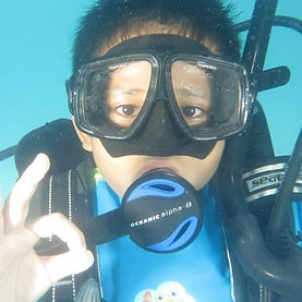 kids scuba diving langkawi