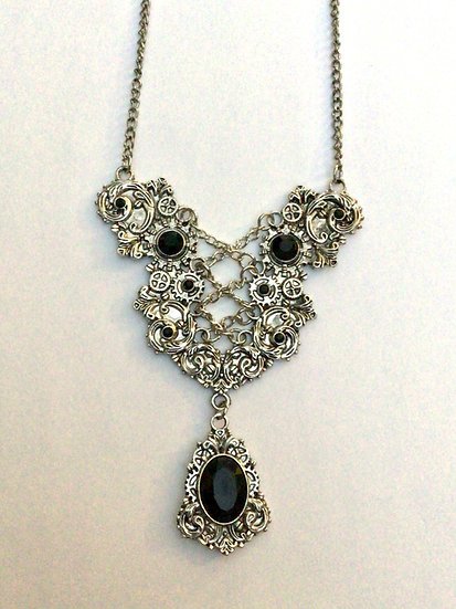Steampunk Ears Necklace