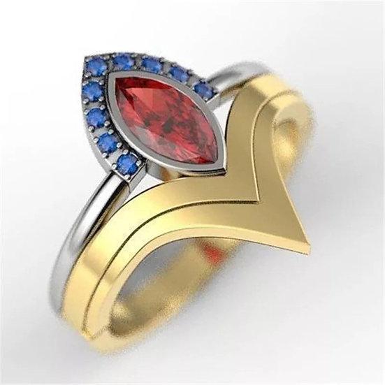 Wonder Woman inspired ring